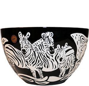 zebra bowl, luxury bowl, crystal bowl