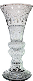 trump vase, luxury vase, crystal vase