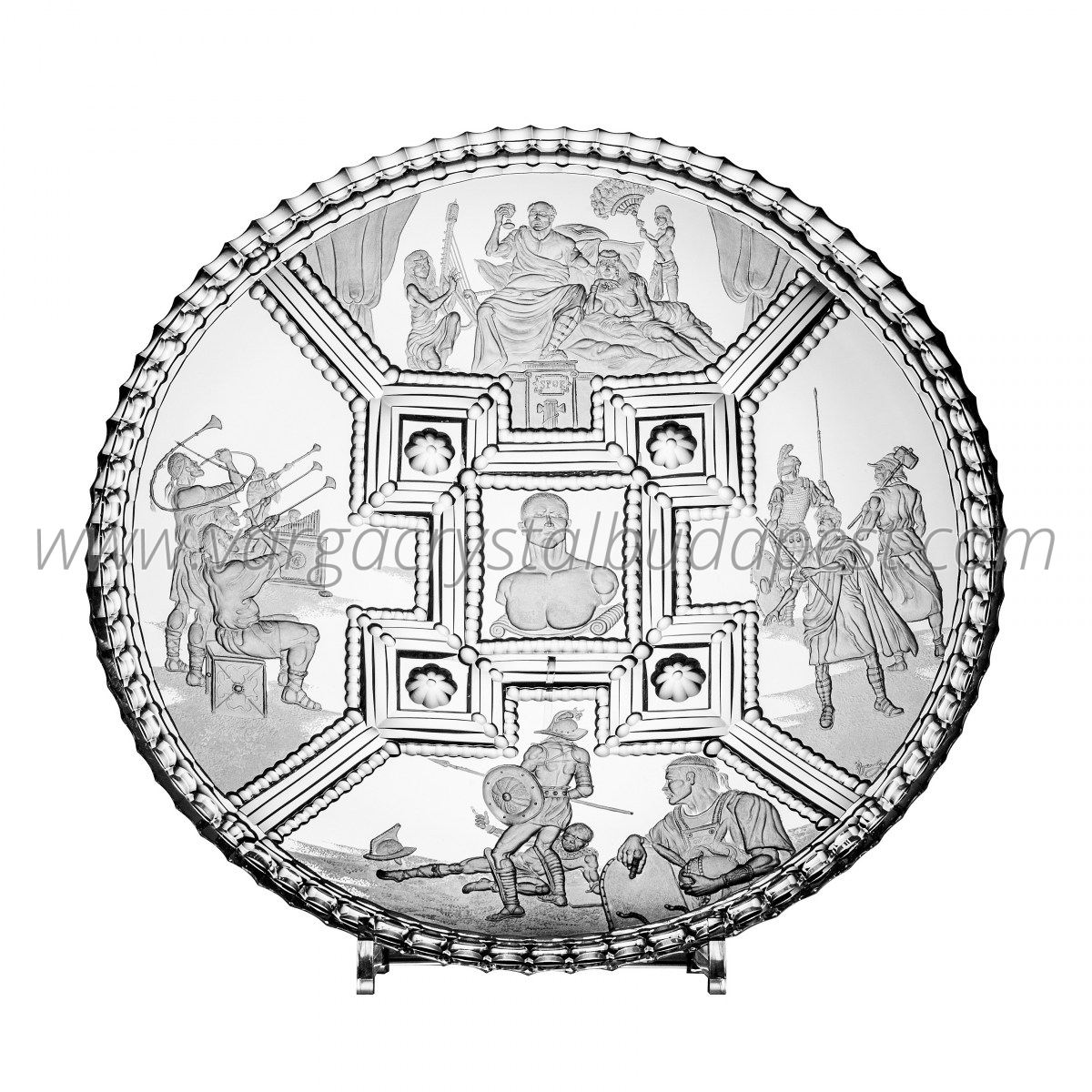 One of a Kind Caesar plate - $ 17143 / € 15000