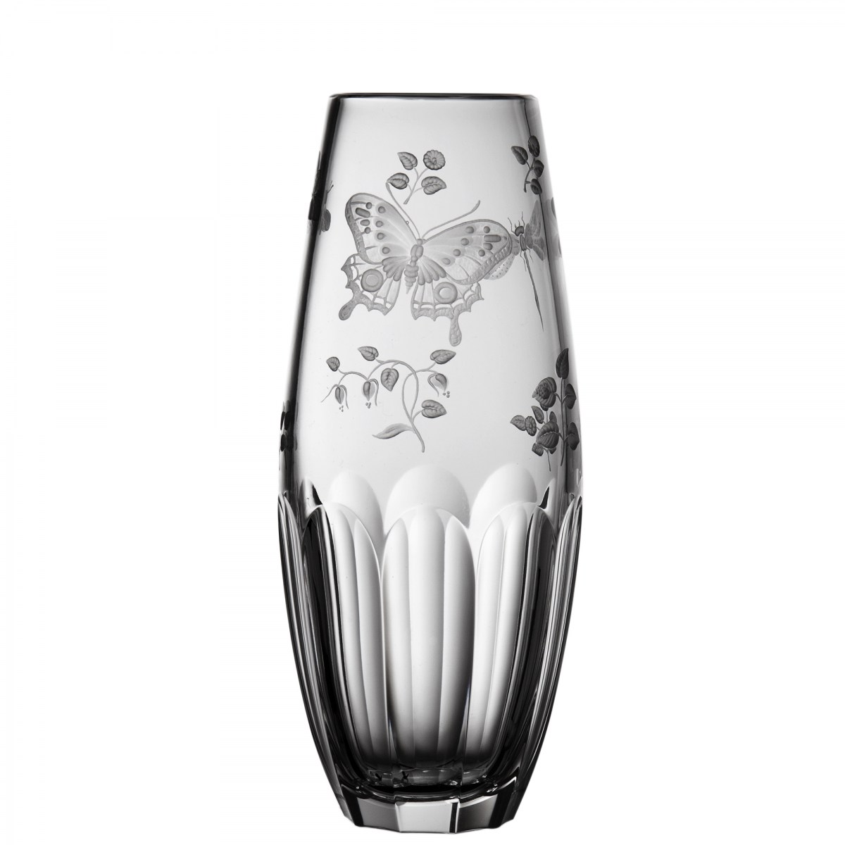 Springtime Clear Barrel Vase - $ 306 / € 268