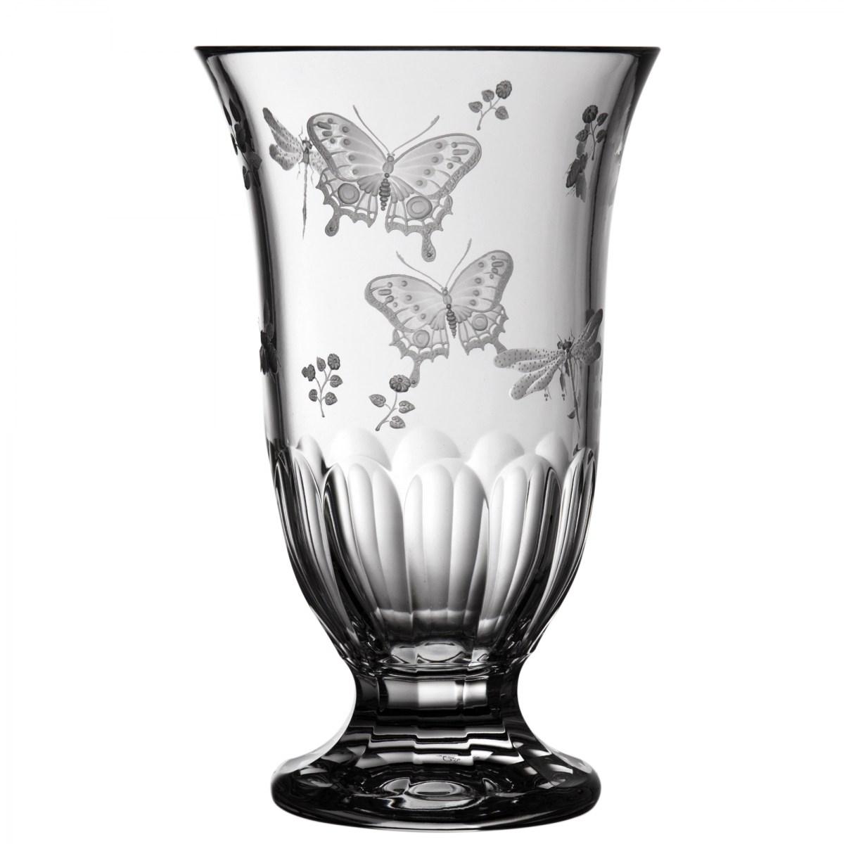 "Springtime Clear Footed Vase 10"" - $ 363 / € 318"