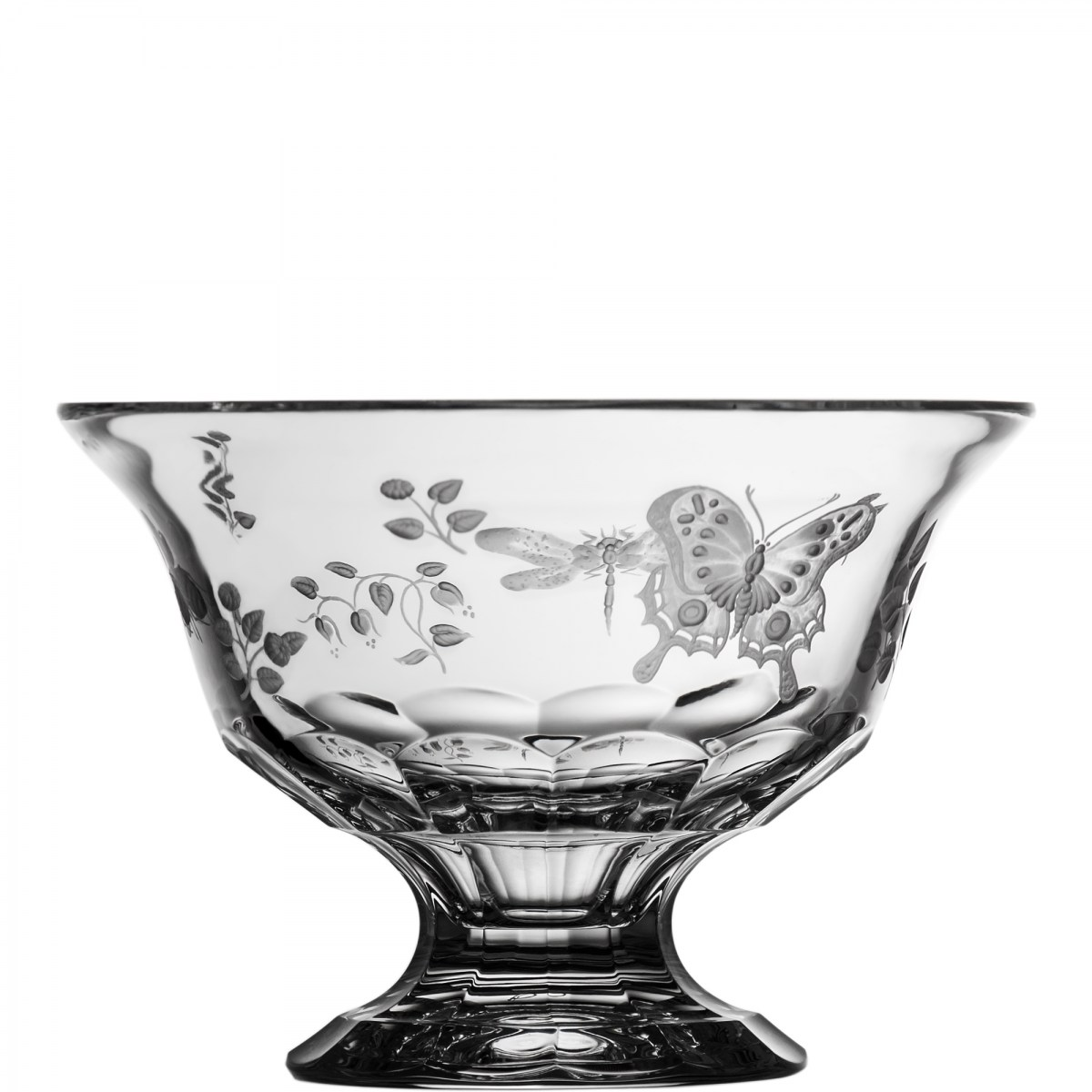 Springtime Clear Footed Bowl 8' - $ 363 / € 318