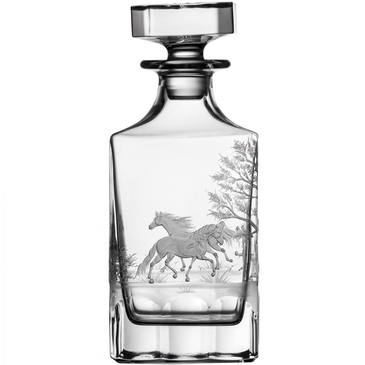 Run 4 Roses Clear Decanter - $ 741 / € 648