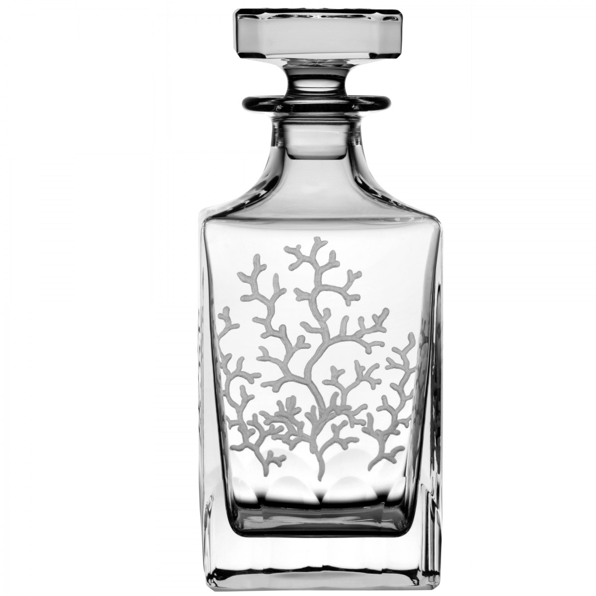Coral Clear Decanter - $ 363 / € 318