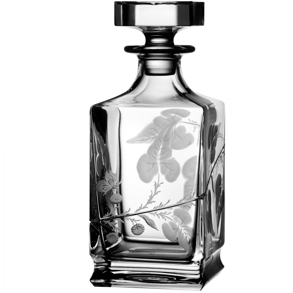 Rain Forest Clear Whiskey Decanter - $ 491 / € 430