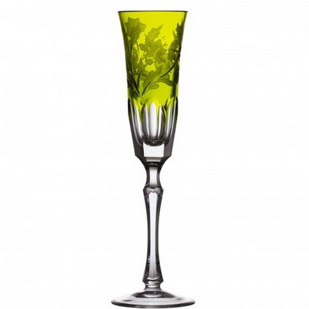 Green Derby Yellow-Green Flute - $ 283 / € 248