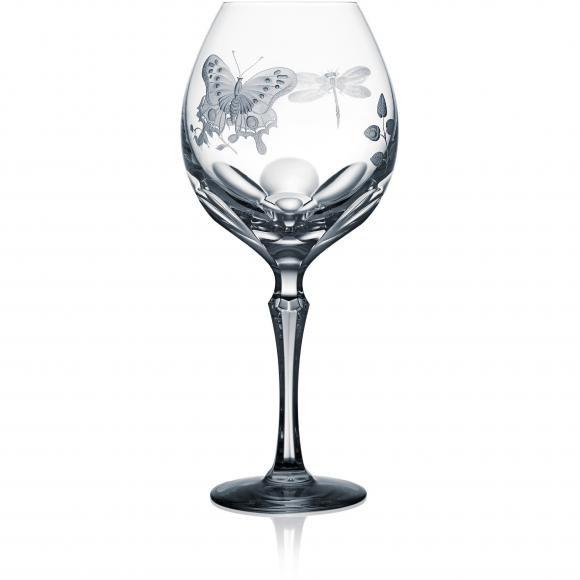 SPRINGTIME Clear Burgundy - $ 192 / € 168